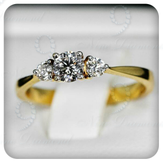 แหวนเพชรแท้ R2031