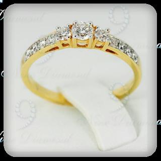 แหวนเพชรแท้ R2036
