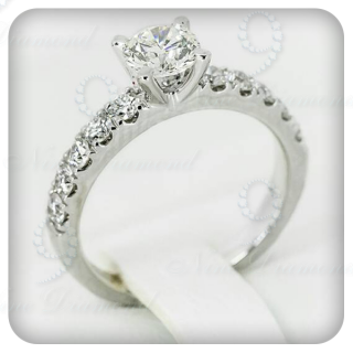 แหวนเพชรแท้ R3755