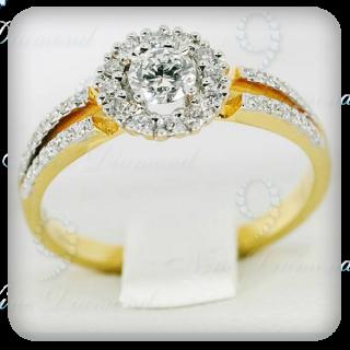 แหวนเพชรแท้ R1750