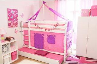 เตียงสองชั้นขนาด 3 5 ฟุต Anastasia