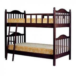 NDLเตียงไม้ยางพารา 2 ชั้น ขนาด 3 5 ฟุต