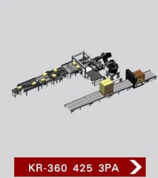 เครื่องจัดเรียงสินค้าบนพาเลท KR 360 425 3PA