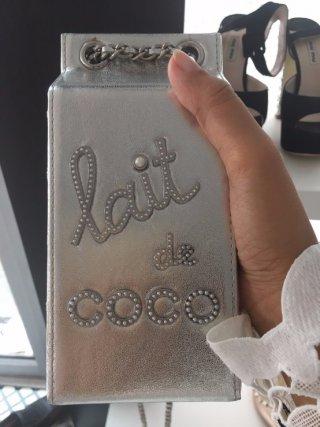 กระเป๋า Chanel lait de coco สุดชิค