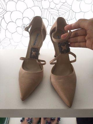 รองเท้า ปลายแหลม สุดหรู ส้นแหลม