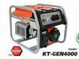 เครื่องยนต์ปั่นไฟเบ็นซิน รุ่น KT GEN 4000