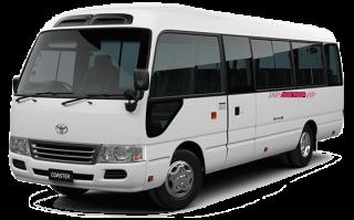 เช่ารถไมโครบัสพร้อมคนขับในญี่ปุ่น
