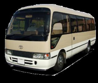 รถไมโครบัสพร้อมคนขับในญี่ปุ่น