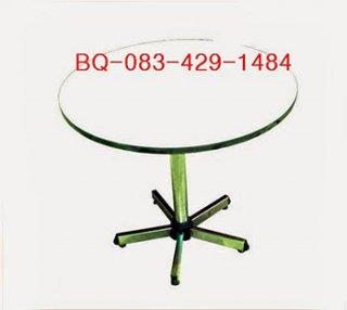 โต๊ะคาเฟ่แฉก หน้าโฟเมก้ากลม