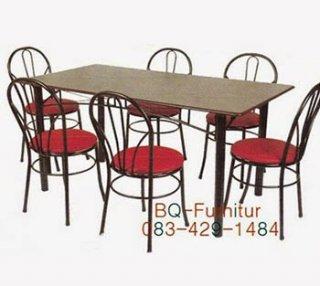 โต๊ะอาหารรุ่น บองก้าสี่เหลียมผืนผ้า
