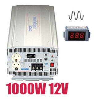 อินเวอร์เตอร์ Pure Sine Wave 1000W 12V