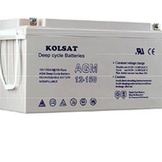 แบตเตอรี่ KOLSAT 12V12ah GEL Deep cycle