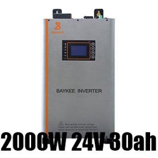 อินเวอร์เตอร์ NK inverter 2000W 24V 30ah