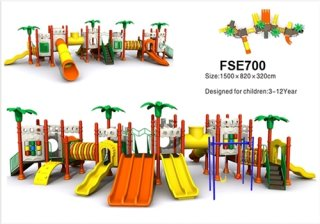 ชุดเครื่องเล่นสำหรับเด็ก รหัส FSE-700