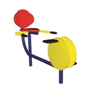 อุปกรณ์บริหารกล้ามเนื้อขา แบบจักรยานนั่งปั่น