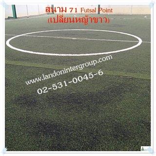 รับซ่อมหญ้าขาวสนามฟุตบอล