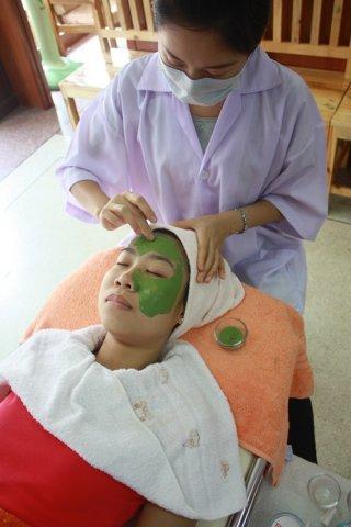 มาร์คเขียวสมุนไพร Rize' Acne Mask