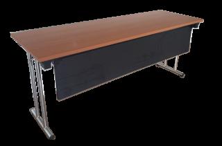 โต๊ะพับขาคู่ มีบังตา