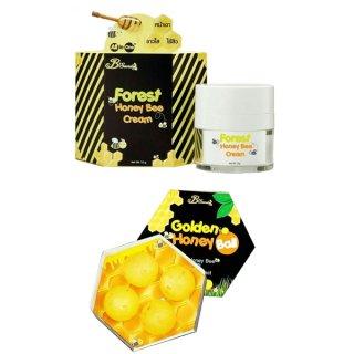 ครีมน้ำผึ้งป่า มาส์กลูกผึ้ง Set F