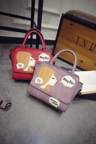 กระเป๋าถือปักลายผู้หญิง K-021