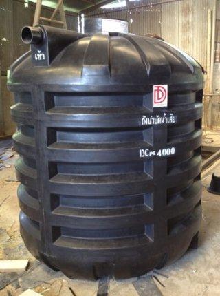ถังบำบัดน้ำเสียพลาสติก PE รุ่น DCPE-4000