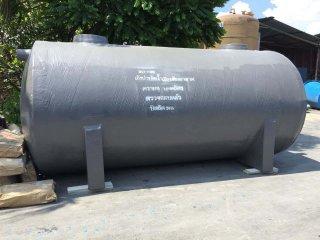 ถังบำบัดน้ำเสียไฟเบอร์กลาส ทรงแคปซูล 14,000 ลิตร