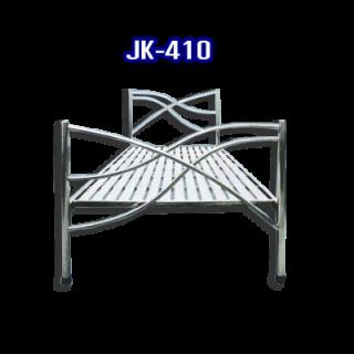 เตียงนอนสแตนเลส รหัส JK - 410