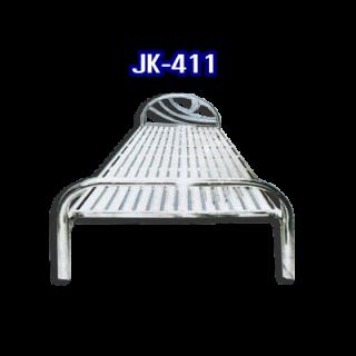 เตียงนอนสแตนเลส รหัส JK - 411