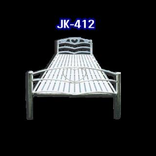 เตียงนอนสแตนเลส รหัส JK - 412
