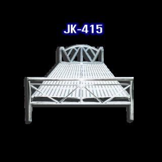 เตียงนอนสแตนเลส รหัส JK - 415
