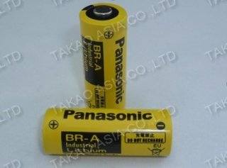 แบตเตอรี่ลิเธียม PANASONIC BR-A (new version)