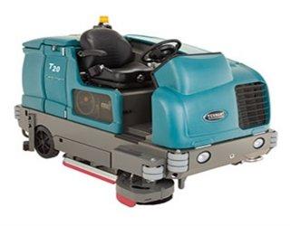รถขัดล้างพื้นดูดกลับน้ำแบบนั่งขับขนาดใหญ่ รุ่น T20