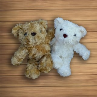 ตุ๊กตาหมีสีขาว