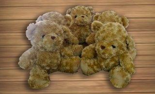 ตุ๊กตาหมีสีน้ำตาล