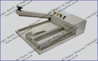 เครื่องซีลปิดปากถุงพลาสติกแบบมือกด รุ่น PCS350 450