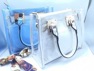 กระเป๋าใส สุดเก๋ (งานจริง) K-020