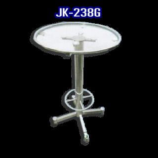 โต๊ะสแตนเลส ทรงวงกลม รหัส JK-238G