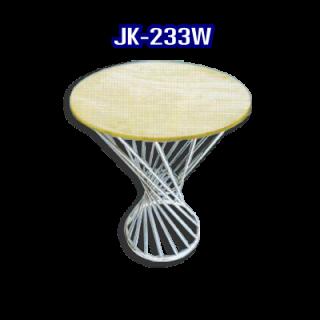 โต๊ะสแตนเลส ทรงวงกลม รหัส JK-233W