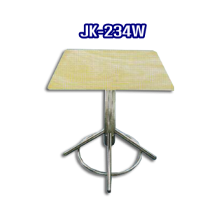 โต๊ะสแตนเลส ทรงสี่เหลี่ยม รหัส JK-234W