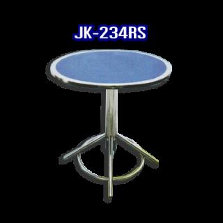 โต๊ะสแตนเลส ทรงวงกลม รหัส JK-234RS