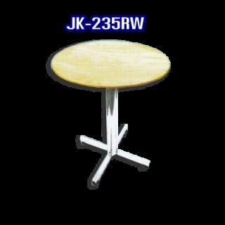 โต๊ะสแตนเลส ทรงวงกลม รหัส JK-235RW