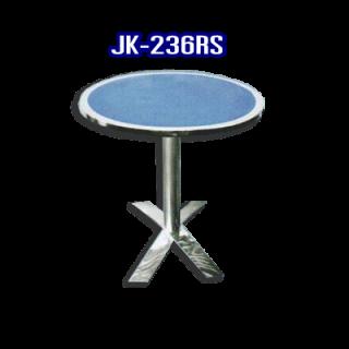 โต๊ะสแตนเลส ทรงวงกลม รหัส JK-236RS