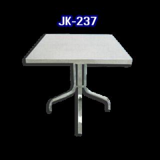 โต๊ะสแตนเลส ทรงสี่เหลี่ยม รหัส JK-237