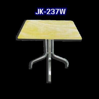 โต๊ะสแตนเลส ทรงสี่เหลี่ยม รหัส JK-237W