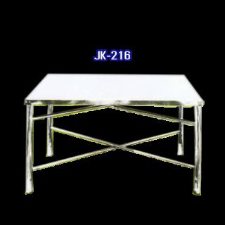 โต๊ะสแตนเลส พับได้ รหัส JK-216