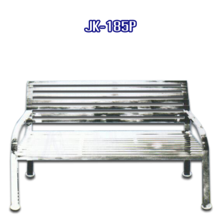 เก้าอี้สแตนเลสยาว รหัส JK-185P