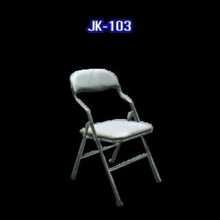 เก้าอี้สแตนเลส มีเบาะ รหัส JK-103