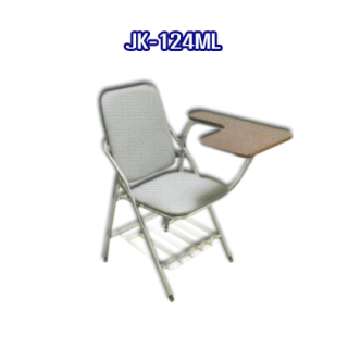 เก้าอี้สแตนเลส มีเบาะ รหัส JK-124ML