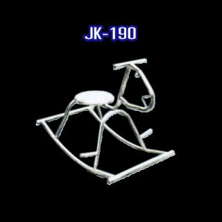 เก้าอี้ม้าโยก สแตนเลส รหัส JK-190