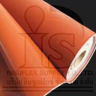 ผ้ากันไฟซิลิก้าเคลือบซิลิโคนสีแดง STR800